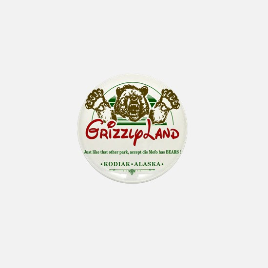 GRIZZLYLAND_ Mini Button