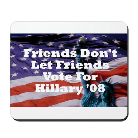 Hillary/Kennedy Mousepad