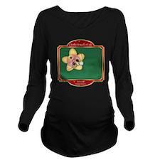 Whoa Star - Christma Long Sleeve Maternity T-Shirt