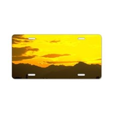 Sunrise Aluminum License Plate