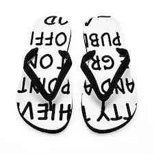 wht_hang_petty_thives Flip Flops