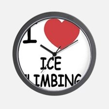 ICE_CLIMBING Wall Clock