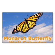 Monarch Butterfly Wall Calenda Decal