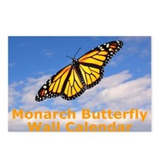 Monarch Butterfly Wall Ca Postcards (Package of 8)