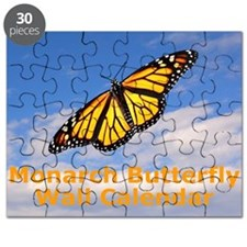 Monarch Butterfly Wall Calendar Puzzle
