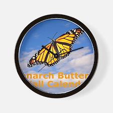 Monarch Butterfly Wall Calendar Wall Clock