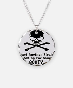 pirate_looking_for_booty1 Necklace