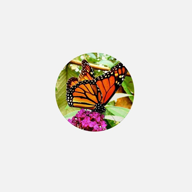 Monarch Butterfly Wall Calendar Page,  Mini Button