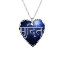 mudita Necklace Heart Charm