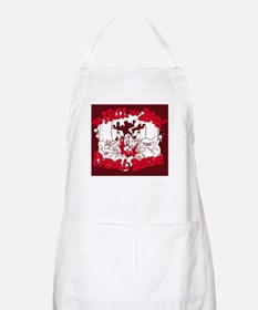 TO HELL AND BACK PITBULL RESC BBQ Apron