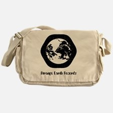 logo-shirt Messenger Bag