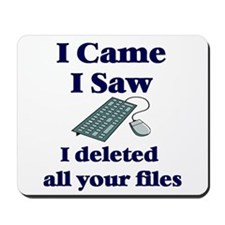 I Deleted Mousepad