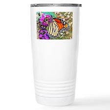 Monarch Butterfly Wall Calendar Travel Mug