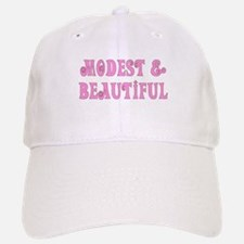 Modest & Beautiful (pink) Baseball Baseball Cap