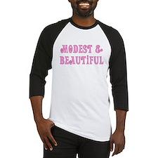 Modest & Beautiful (pink) Baseball Jersey
