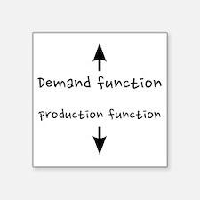 """fixed_demandproduction Square Sticker 3"""" x 3"""""""