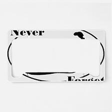 neverforget License Plate Holder