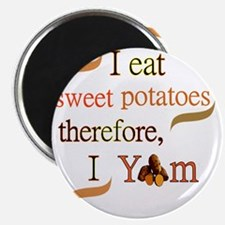Sweet Potatoes Magnet