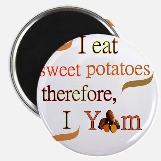 Sweet Potatoes Magnet