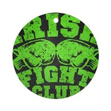 Irish-Fight-Club-poster Round Ornament