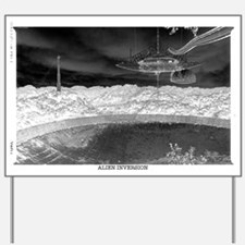 Alien Inversion Poster Yard Sign