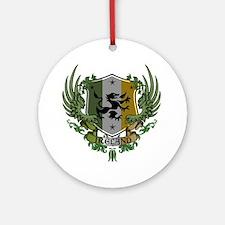 Ireland-Herald Round Ornament