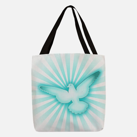 Cute Religion Polyester Tote Bag