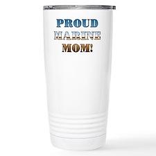 Proud Marine Mom Travel Mug