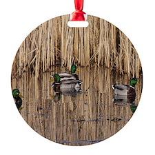 Mallards Mousepad Ornament