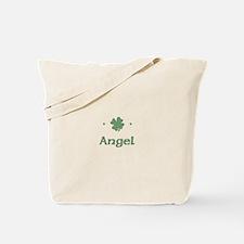 """Shamrock - Angel"" Tote Bag"