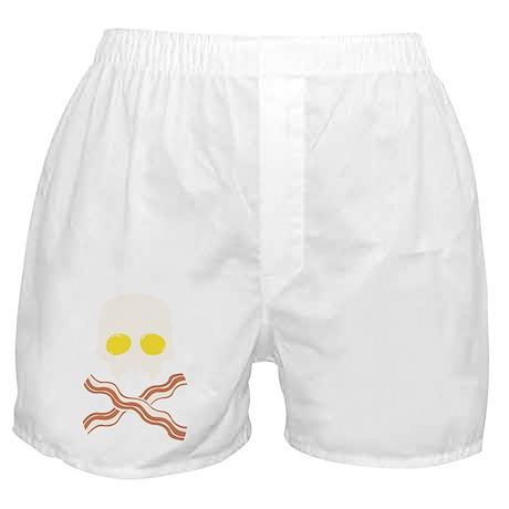 Breakfast Skull Boxer Shorts