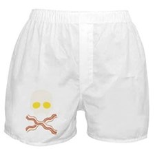 Breakfast Skull Boxer Shorts