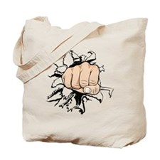 Fist_Ripping Tote Bag