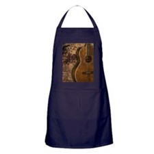 Acoustic guitar journal Apron (dark)