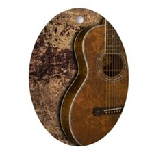 Acoustic guitar journal Oval Ornament