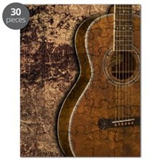 Acoustic guitar journal Puzzle