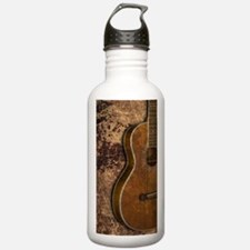 Acoustic guitar journa Water Bottle
