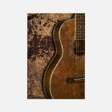 Acoustic guitar journal Rectangle Magnet