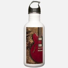 Electric guitar journa Water Bottle
