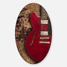 Electric guitar journal Decal