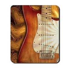 Electric guitar journal -strat- strat Mousepad