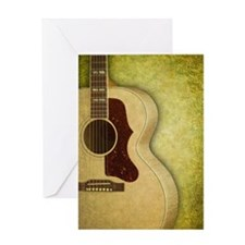 Acoustic guitar journal Greeting Card