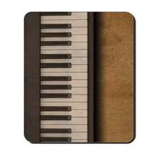 Piano music journal Mousepad