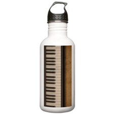 Piano music journal Water Bottle