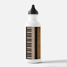 Piano music journal Water Bottle