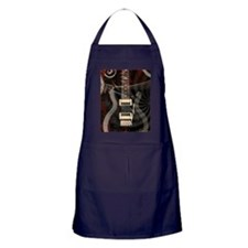 Electric guitar journal Apron (dark)