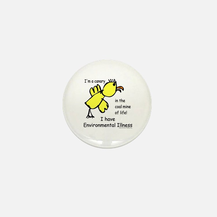 EI Canary Mini Button