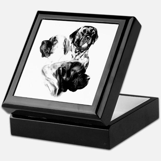 Charcoal 25 Keepsake Box