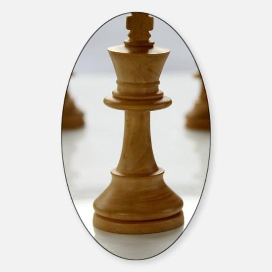 chess Sticker (Oval)