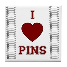 pinning_orig Tile Coaster